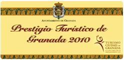 Premio Prestigio turistico de Granada a la Cueva de la Rocío 2010
