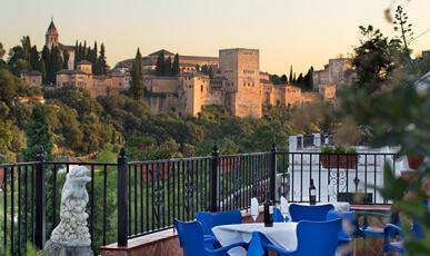 restaurante sacromonte-terraza