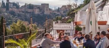 restaurante con vistas Alhambra