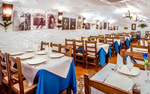 restaurante flamenco en Granada