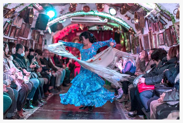 Flamenco Show ends with the Rumba, a more informal dance