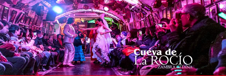 Espectáculo flamenco en Granada en la Cueva de la Rocío Sacromonte