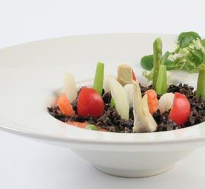 huerto de ensalada